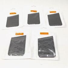 LOT OF 5 CELLAIRIS 12-0000101 UNIVERSAL POCKET ID - BLACK