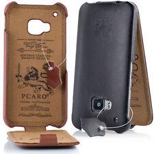 PCARO Smooth Jazz ECHTLEDER Hülle für iPhone Samsung LG HTC Tasche Cover Case