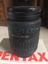 PENTAX Auto Focus Lens FA 28 - 80 f3.5 - f5.6