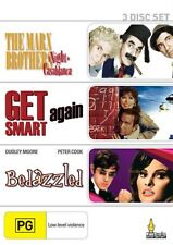 MARX BROTHERS/GET SMART AGAIN/BEDAZZLED 3DVD NEW