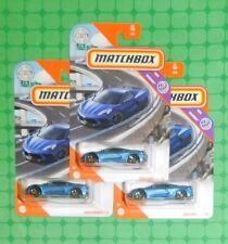 2020 Matchbox Highway #47- 2020 Corvette C8 - Lot of 3