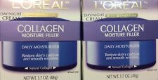 ✦ NEW ✦!  2 L'OREAL COLLAGEN MOISTURE FILLER DAILY MOISTURIZER DAY/NIGHT CREAM