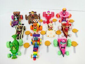 Disney Wreck-It Ralph Sugar Rush Racer Set (Pick One) Key, Car, & Figure