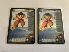 DBZ CCG Yamcha The Amazing 92 Foil And Common Dragonball Z Foil Card