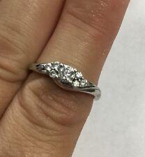 Beautiful 14kt White Gold Diamond Engagement Ring