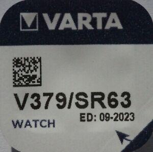 1 x Varta V379 Knopfzellen Uhrenbatterien Batterien SR521SW  AG0