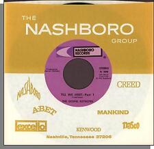 """The Gospel Keynotes - Till We Meet, Parts 1 & 2 - 7"""" Nashboro Gospel Single!"""