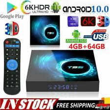 T95 Conversor TV Android 10.0 Quad Core 16/32/64GB HD Media Player Wifi Hdmi