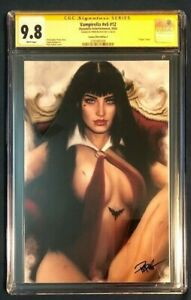 VAMPIRELLA #V5 #12 CGC 9.8 SS SIGNED PIPER RUDICH - ONLY ONE ON CENSUS!