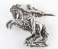"Sasuntsi Davit ""David of Sassoun"" Sterling Silver Pendant"