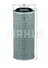 MAHLE Luftfilter LX 200 Filtereinsatz für NISSAN AEBI VW TRANSPORTER T3 Bus LT 1