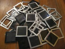 "Don't Need to be Rich to be Frame-ous! Vtg Slides & Frames•3"" Plastic/Metal"