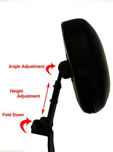 Fully Adjustable Driver's Backrest  - '97-'04 BMW R1100RT R1150 RT