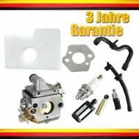 Luftfilter Vergaser für Stihl Motorsäge MS170 MS180 017 018 Filterset Oil