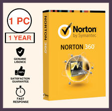 Norton 360 Premium Antivirus 2018 1 PC 1 Year - Global License
