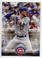 2018 Topps KRIS BRYANT Rare TOPPS SALUTE INSERT CARD #TS-47 Chicago Cubs