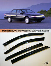 For Mercury Sable 1992-1995, Windows Visors Deflector Sun Rain Guard Vent