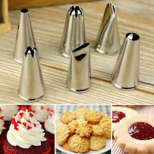 6Pcs/Set Icing Piping Nozzles Decorating Tip For DIY Cakes Pastry Cream Bakery