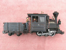 LGB G-GAUGE: RE-WORKED PORTER LOCO WITH TENDER - NICELY MODIFIED - WORKING ORDER
