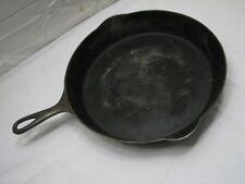 Erie Pre-Griswold 11 Skillet Cast Iron Fry Pan Heat/Smoke Ring 717B 11B B 717
