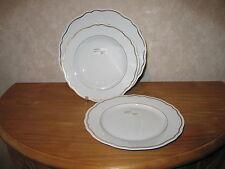 PHILIPPE DESHOULIERES *NEW* DOME OR 6609 Set 3 Assiettes Set 3 plates