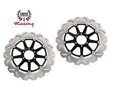 Front Brake Disc Rotors Set KTM Superduke 990 2005-2012 Floating Wave Rotors