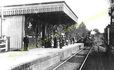 Wheathampstead Railway Station Photo. Ayot - Harpenden. Welwyn to Luton Line (5)