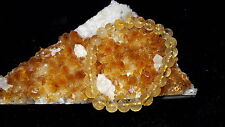 Citrine Natural Stone 8mm Bracelet For Attracts Wealth & Money Growth AAA+++