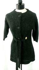 Ann Taylor LOFT Nwot Women S Charcoal Grey Knit Elbow Sleeve Short Sweatercoat
