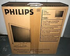"NEW Philips 15"" LCD Monitor 150s7 150S7FB (38cm) XGA VGA 150S7FB/2"