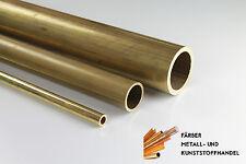 Messingrohr Messing Rohr Rundrohr 500mm Länge Wandstärke 1mm Ø6-20mm wählbar ❤