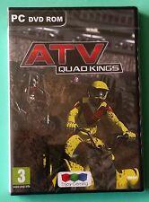 Atv quad kings pc dvd-rom quad bike racing driving game brand new & sealed uk
