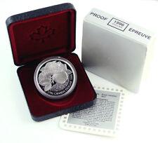 CANADA 1 Dollar 1996 Silver PF 200th Anniversary John McIntosh's Arrival Box/CoA