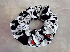 Mickey Mouse Handmade Hair Scrunchie 100% Cotton