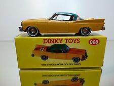 DINKY TOYS CODE 2 MODELS 008 - STUDEBAKER GOLDEN HAWK 1958 - 1:43 - EXCELLENT IB