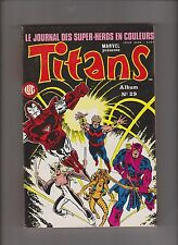 TITANS Album relié 66 (n°196, 197, 198). SEMIC 1995 - ETAT NEUF