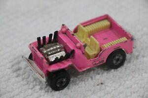 Matchbox Lesney Superfast - No2 Jeep Hot Rod - Made England 1971