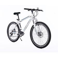 Mountain Bike for Women 27.5'' White 21 Speed Hybrid Bike Shimano Gears Bicycle