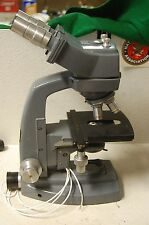 Bausch & Lomb Adjustable Zoom & Lighting Microscope Rectangular Stage