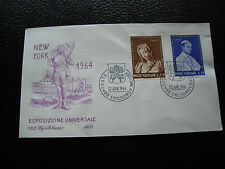 VATICAN - enveloppe 1er jour 22/4/1964 (cy17)