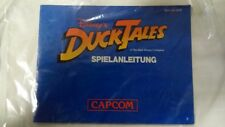 Manual Instrucciones Instruction Booklet DUCKTALES Alemán Deutsch 1989 Game Boy