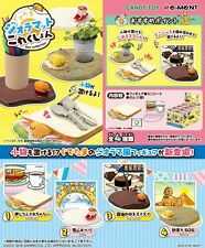 Re-Ment Miniature Sanrio Gudetama Mat Collection Full set of 4 pcs