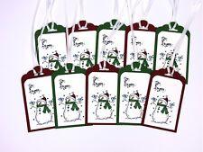 Stampin Up Christmas Gift Tags Christmas Tags Snowman Gift Tags