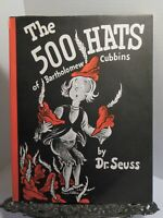 DR SEUSS The 500 Hats of Bartholomew Cubbins FIRST BRITISH EDITION 1966 HBDJ