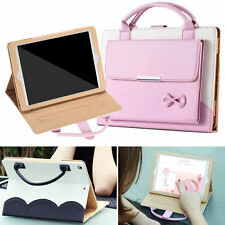 Luxury Carrying Handbag Leather Stand Case Cover For iPad Pro /mini 2/3/4/Air12