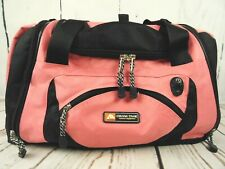 Ozark Trail Casual Outdoor Camping Pink Duffel Bag Carry On Zippered Pockets