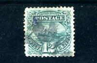 USAstamps Used VF US 1869 Pictorial Issue Scott 117 Repaired