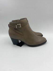 Vionic Womens Upright Upton Taupe Booties Size 6.5 M , 513