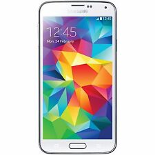 "SAMSUNG GALAXY S5 SM-G900F - 16GB 4G 5.1"" WHITE UNLOCKED"