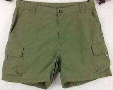 The North Face Nylon Hiking Green Cargo Shorts ~ Women's Small Petite ~ EUC
